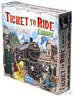 "Настольная игра ""Ticket to Ride: Европа"""