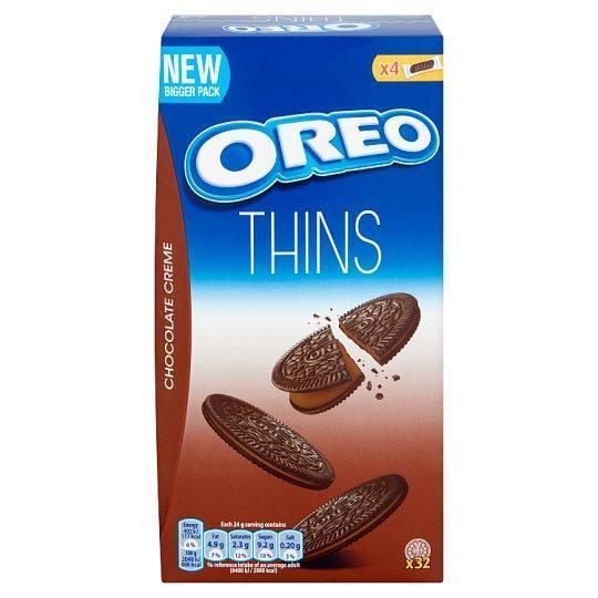 Печенье OREO Thins Chocolate