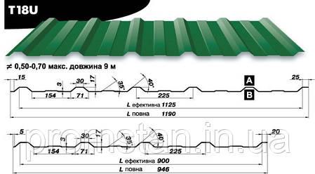Профнастил Т-18, Николаев, Херсон, фото 2