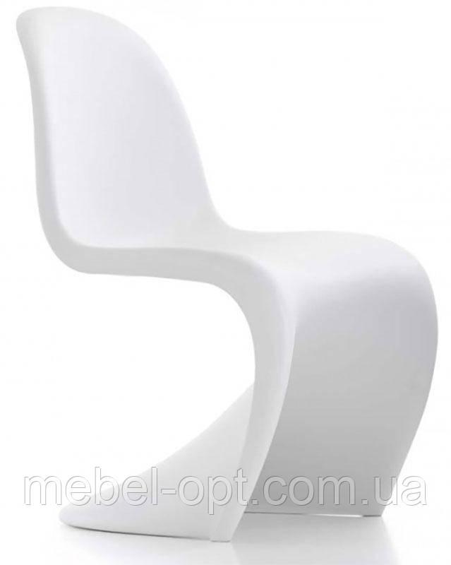 Стул Пантон Panton Chair белый от датского дизайнера Verner Panton 1960 г