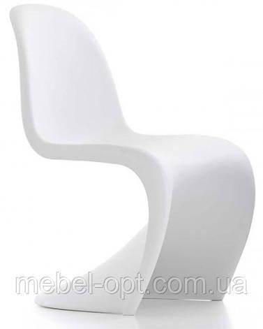 Стул Пантон Panton Chair белый от датского дизайнера Verner Panton 1960 г, фото 2