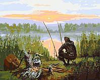 Картины по номерам / обложка. Отдых возле реки 40*50см арт. КНО2241