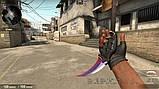 Нож керамбит CS GO, сатин, фото 2