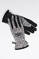 Сенсорные перчатки теплые KNITED MEL Urban Planet (рукавиці, рукавички, мужские перчатки, женские перчатки)
