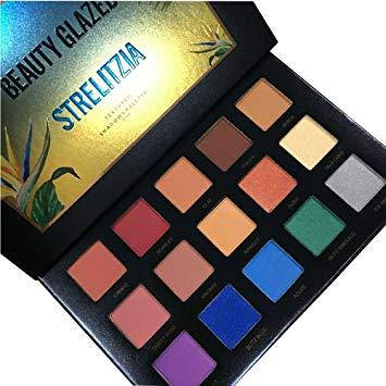 Beauty Glazed STRELITZIA textured shadow palette тени 15 цветов, фото 2