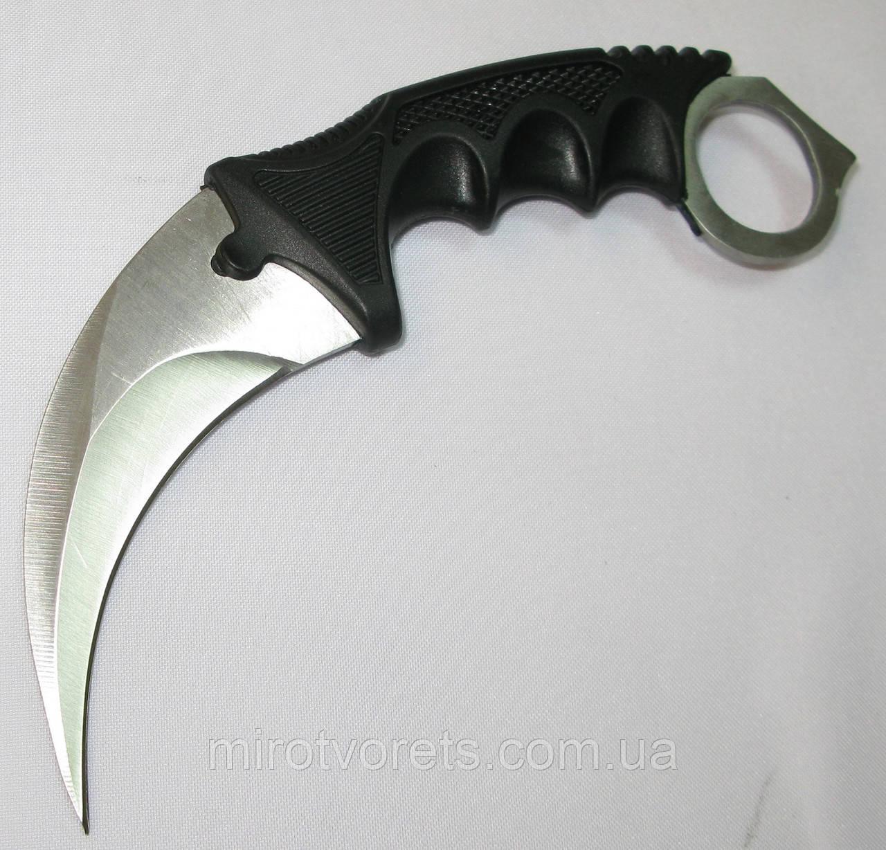 Нож керамбит CS GO, сатин
