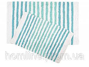 Набор ковриков Irya Grenada mavi голубой 70*115+55*80