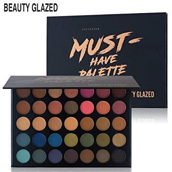 Beauty Glazed MUST HAVE PALETTE тени для век 35 цветов