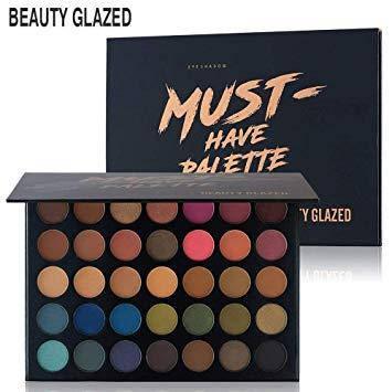 Beauty Glazed MUST HAVE PALETTE тени для век 35 цветов, фото 2