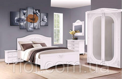 Кровать Анжелика двуспальная тм Неман