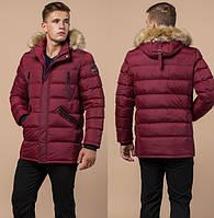 Теплая зимняя мужская куртка со съемным капюшоном и опушкой (разные цвета) 09666d9ded4a9