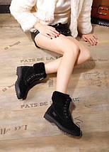 Женские замшевые зимние ботинки UGG.Купить в Украине!, фото 3
