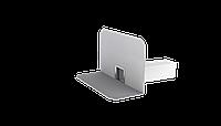 Парапетная воронка квадратного сечения TWC 50x100 PVC с приваренным фартуком из ПВХ-мембраны