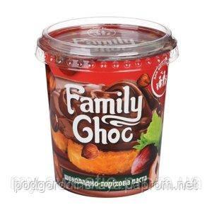 Шоколадно-горіхова паста, 400г. ТМ Family Choc