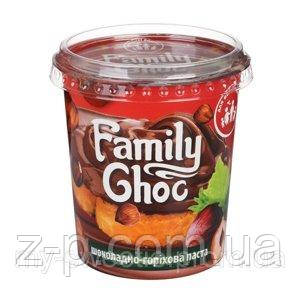 Шоколадно ореховая паста, 400г. ТМ Family Choc