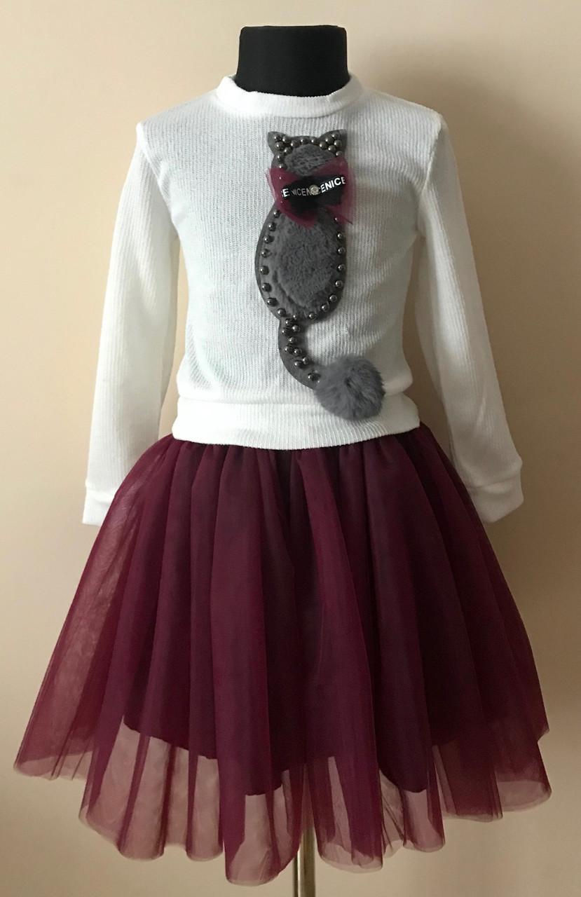 81c9be727df0fed Платье или кофта с юбкой для девочки нарядное 4-5 лет: продажа, цена ...