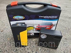 Зарядное пусковое устройство для машины с компресором HIGH POWER Jump Start Car 50800mAh Power Bank