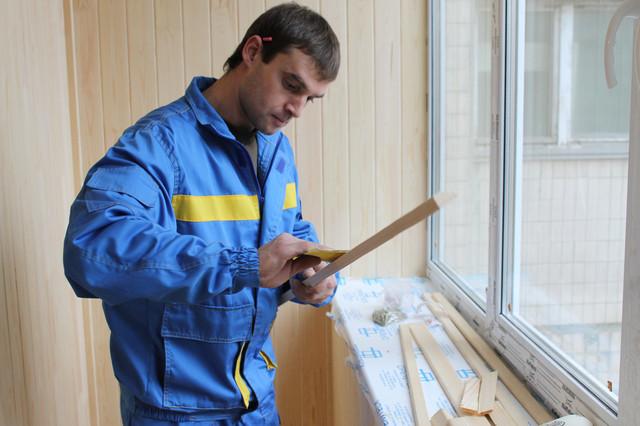 Ремонт лоджии под ключ в Киеве
