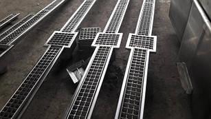 Каналізаційні Лотки з нержавіючої сталі
