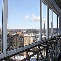 Остекление лоджии в Киеве