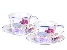 Чайный набор на 2 персоны Лаванда 924-253
