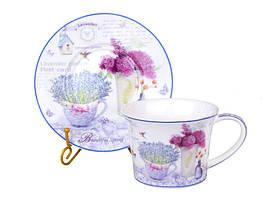 Чайный набор на 6 персон Лаванда 924-255