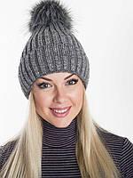Вязаная женская шапка  H32ST, фото 1