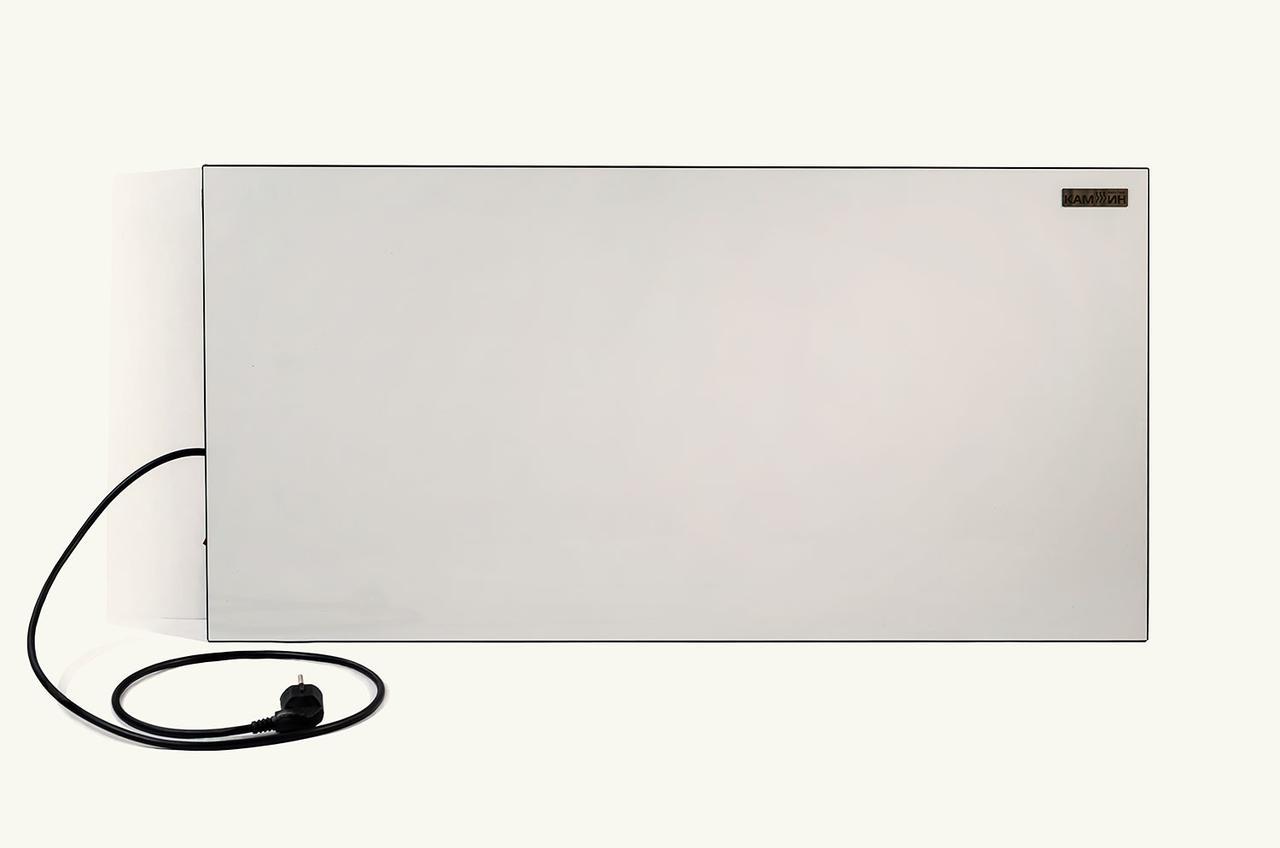 Настенный керамический ИК обогреватель с терморегулятором КАМ-ИН 525T (525Вт 10м2)