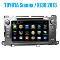 Производитель Штатные головные устройства на базе Android 4.2 Toyota Sienna / XL30 2013