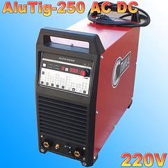Аргонодуговой сварочный инвертор СПИКА ALUTIG - 200P AC/DC