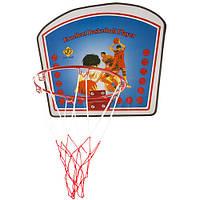 Кольцо баскетбольное с щитом детское (34*40) 88273