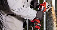 Аккумуляторная болгарка Einhell TE-AG 18/115 Li Kit Power X-Change (Угловая шлифмашина Германия, фото 3
