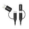 Универсальный кабель Tronsmart C4N1 4-in-1 USB Type-C Cable 1m Black