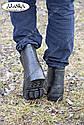 Мужские галоши черные (Код: ГП-07), фото 5