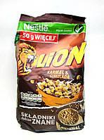 Детские хлопья Nestle Lion карамель с шоколадом, 300гр (Польша)