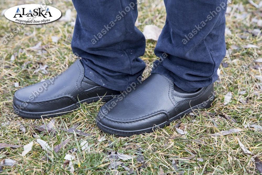 Туфли мужские черные (Код: ТМ-01)