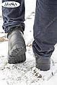 Мужские меховые галоши черные (Код: ГП-12 мех), фото 8
