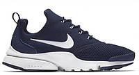 "Кроссовки Nike Air Presto Fly ""Blue"" - ""Синие Белые""  (Копия ААА+)"