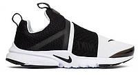 "Кроссовки Nike Presto Extreme (GS) ""Black/White"" - ""Черные Белые""  (Копия ААА+)"
