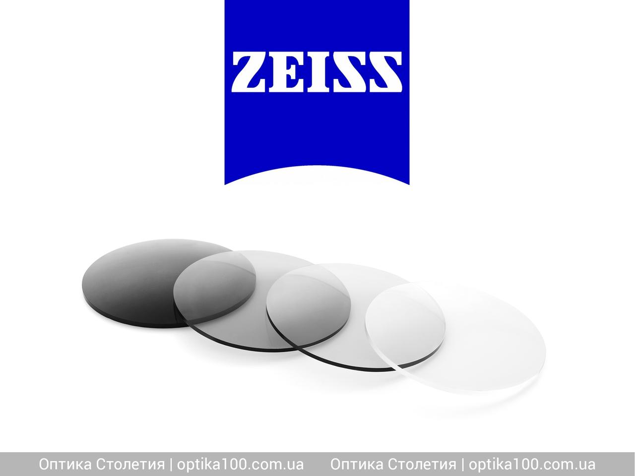 Фотохромная линза ZEISS PhotoFusion 1,5. Затемнение до 89%
