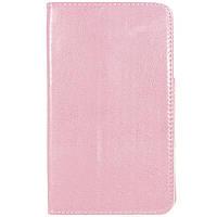 ✸Чехол книжка 7 дюймов LESKO Call Розовый универсальный для планшета