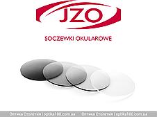 Скляна фотохромная лінза хамелеон Izokron 1,5 FOTO. Затемнення до 76%