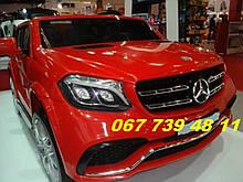 Детский электромобиль M 3565EBLR-3 Mercedes-Benz GLS-63 AMG черный