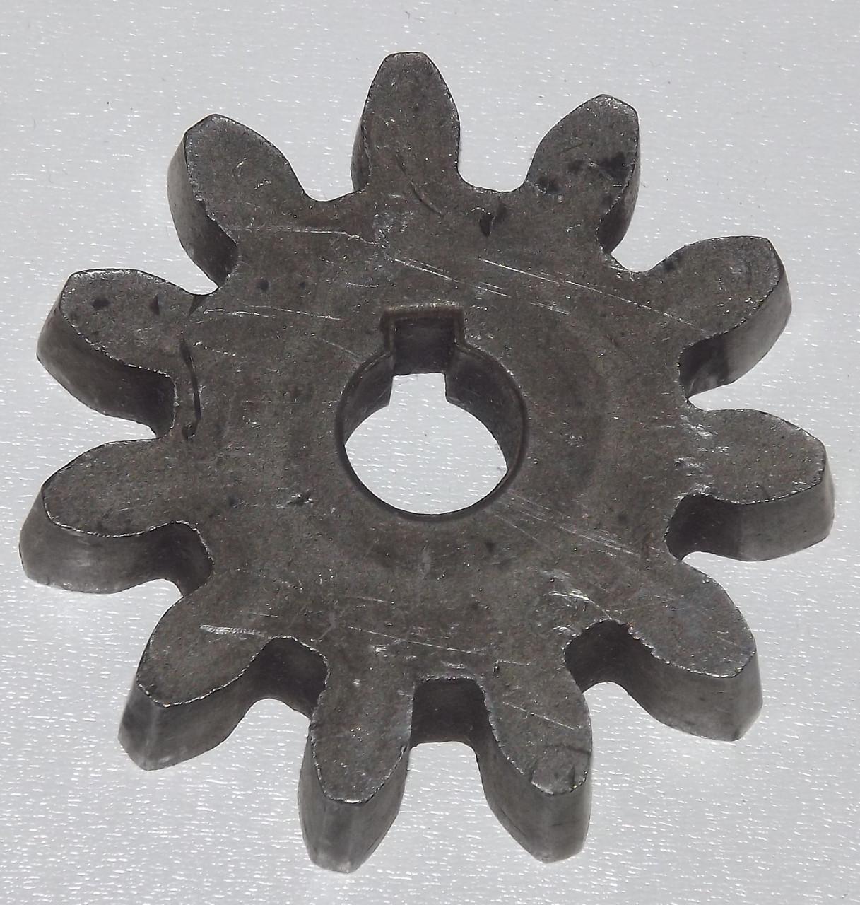 Шестеренка на  11 зубьев к бетономешалке Werk, Forte, 140, 160, 180 литров.