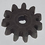 Шестеренка на  11 зубьев к бетономешалке Werk, Forte, 140, 160, 180 литров., фото 2