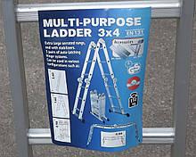Практика 3х4 (без платформы) лестница трансформер до 3.36 метров