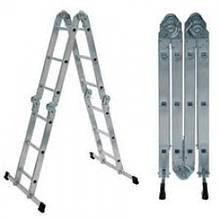 Практика 4х4 (без платформы) лестница трансформер до 4.7 метров