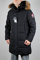 Куртка зимняя Tiger Force 4994 Чёрная