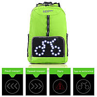 Велосипедний рюкзак з підсвіткою VUP NB-8233 Зелений