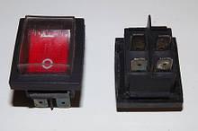 Кнопка одинарная в силиконе к бетономешалке (4 выхода)
